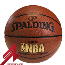Bóng rổ Spalding NBA Gold - Indoor/Outdoor Size 7